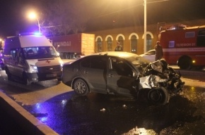 В ДТП на Октябрьской набережной погибли двое мужчин