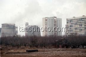 Протестующие жители Бирюлева подожгли торговый центр