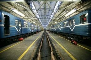 В метро «Рыбацкое» окна вагона обстреляли из пневматики
