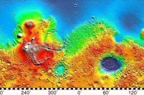 На Марсе обнаружены следы древних супервулканов