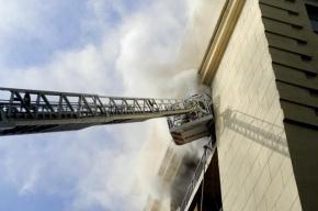 На севере Москвы ликвидирован пожар на мебельном складе