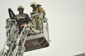 В Петербурге перекрыто движение на Невском проспекте из-за пожара