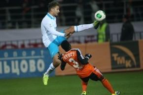«Зенит» одержал волевую победу над «Уралом» благодаря дублю Широкова