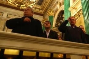 Вице-губернатор Кичеджи стал крестным ребенка Виталия Милонова