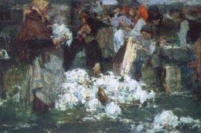 На «Спасской» смонтировали мозаику со сценами из жизни XIX века