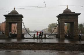 Старо-Калинкин мост отремонтируют до конца января 2014 года