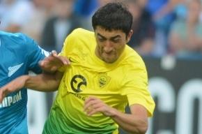 Футболист «Анжи» Ахмедов перейдет в «Зенит» зимой