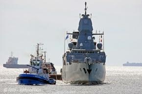 Корабли NATO прибыли в Петербург