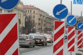 Часть Невского проспекта закроют для движения на 5-6 октября