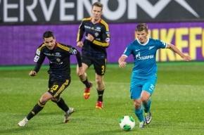 «Зенит» разгромил ЦСКА в матче 13-го тура чемпионата России по футболу