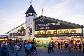 Посетители Октоберфеста в этом году выпили 6,7 млн литров пива