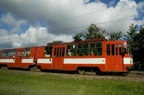 В Красногвардейском районе столкнулись трамвай и фура