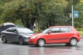 В Петроградском районе в ДТП пострадал ребенок