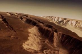 Астрономы показали трехмерную карту Марса