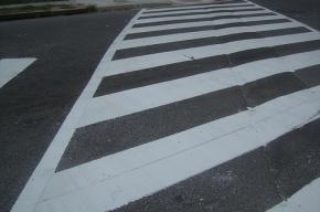 В Приморском районе водитель сбил 12-летнюю девочку на «зебре»
