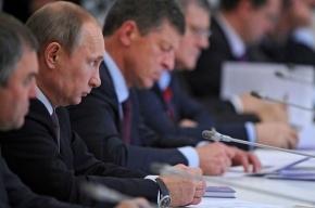 Путин не поддержал идею визового режима со странами СНГ