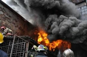 На юго-востоке Москвы сгорели шесть гаражей