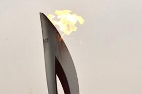 Олимпийский факел Алексея Миллера тушили с помощью спецприспособлений