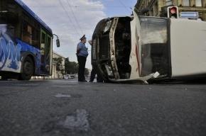 В Ленобласти столкнулись грузовик и три автомобиля