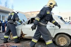 В Тверской области в ДТП попал петербургский полицейский