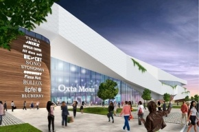 Концерн SRV начал строительство ТРЦ «Охта Молл» в Петербурге