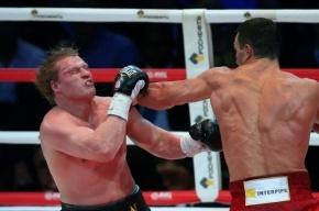 Поветкин планирует победить Кличко через год