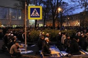Мусульмане Петербурга празднуют Курбан-байрам