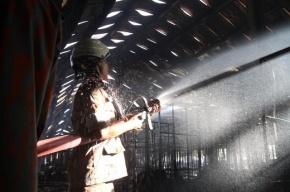 Пожар в здании фабрики в центре Москвы потушен
