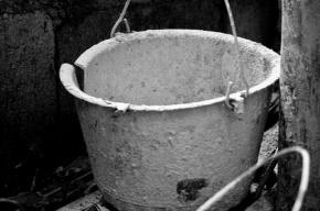 В Купчино прохожая бросила в иномарку ведро с цементом
