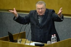 Жириновский замерз на заседании Госсовета в Кремле