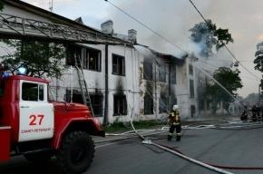 В Петербурге произошел пожар в торговом центре