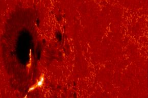 Мощная вспышка высшего класса произошла на Солнце