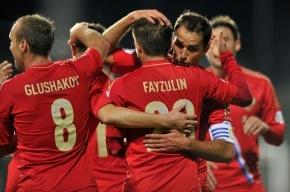Сборная России обыграла Люксембург в отборочном матче ЧМ-2014