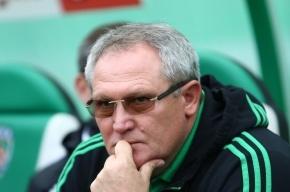 Главный тренер «Терека» Красножан отправлен в отставку
