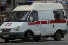 «Скорая помощь» попала в ДТП на проспекте Стачек