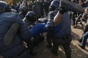 На акции секс-меньшинств в Петербурге задержаны 67 человек