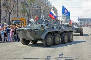 В Абхазии погиб российский военный при падении БТР в овраг
