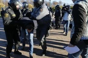 Более 90 человек задержаны в Петербурге после акций националистов
