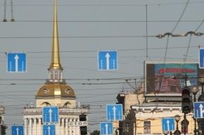 Троллейбусы и трамваи встали в Петербурге из-за обрыва проводов