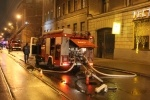 Пожар в здании Военно-медицинской академии: Фоторепортаж