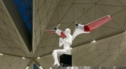 Ангелы-самолеты в «Пулково» напугали пассажиров: Фоторепортаж