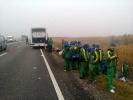 Столкновение автобусов в Ставрополье 3 ноября 2013 года: Фоторепортаж