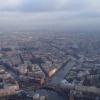 Полтавченко осмотрел Петербург с вертолета, 9 ноября 2013: Фоторепортаж
