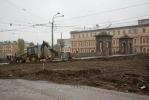 Фоторепортаж: «Закрытие на ремонт Старо-Калинкиного моста 7 ноября 2013 года »