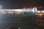 В Петербурге закрыли дамбу из-за угрозы наводнения, 17 ноября: Фоторепортаж