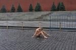 Фоторепортаж: «Акция Петра Павленского на Красной площади»