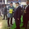 Фоторепортаж: «Полтавченко открыл завод MAN в Шушарах»