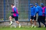 тренировка Зенита перед матчем с Порту: Фоторепортаж