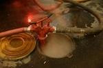 пожар в коллекторе на Тверской 15: Фоторепортаж