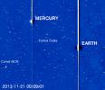 Фоторепортаж: «Комета ISON испарилась из-за сближения с Солнцем»
